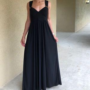 Tiana B Black Be My Sweetheart Maxi Dress